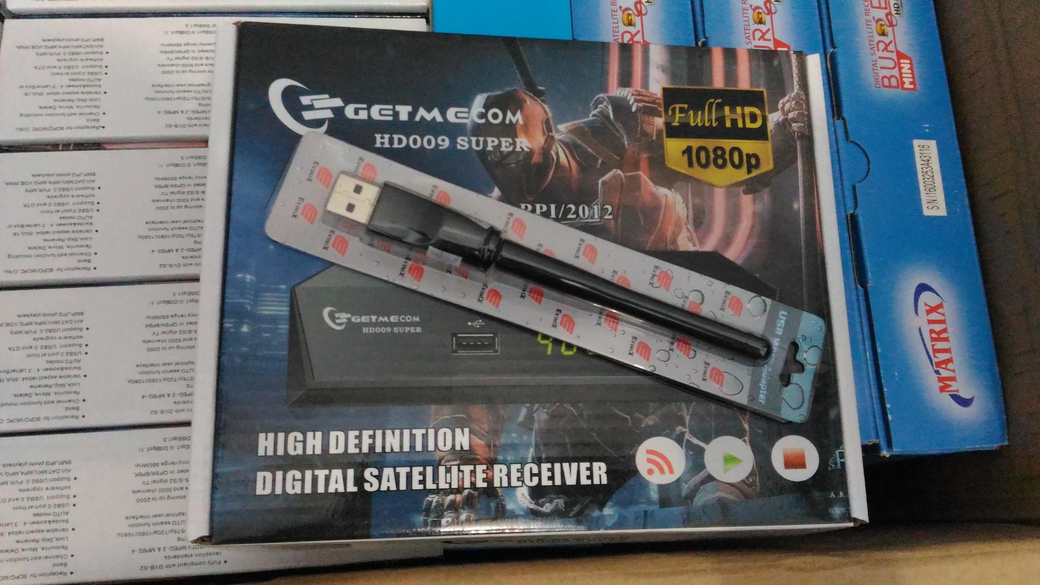 Getmecom HD009 Super + Dongle Wifi