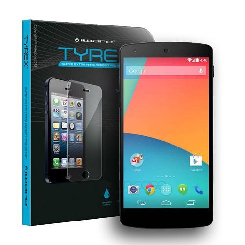 Tyrex LG Nexus 5 E980 Tempered Glass Screen Protector Antigores Kaca