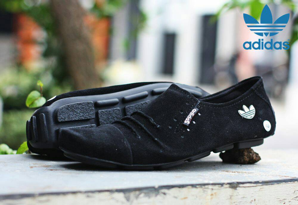 adidas alexander hitam suede Murah