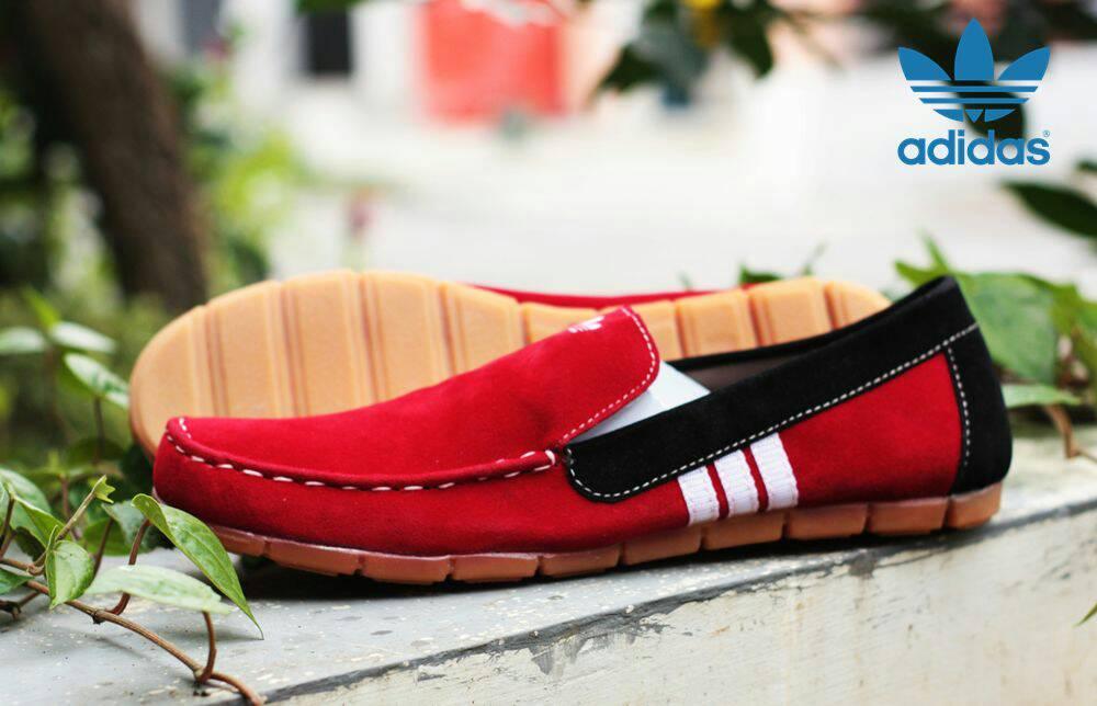 adidas slop nett merah Murah
