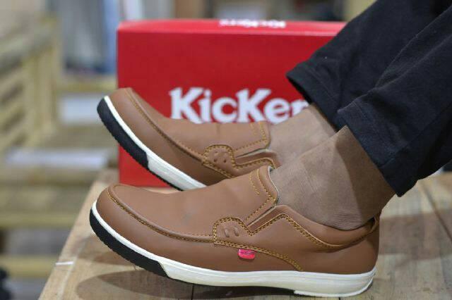 sepatu kickers mazero tan