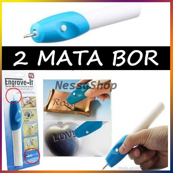 Diskon Engrave It / Engraveit Pen - Akal Ukir Serbaguna (2 MATA BOR)