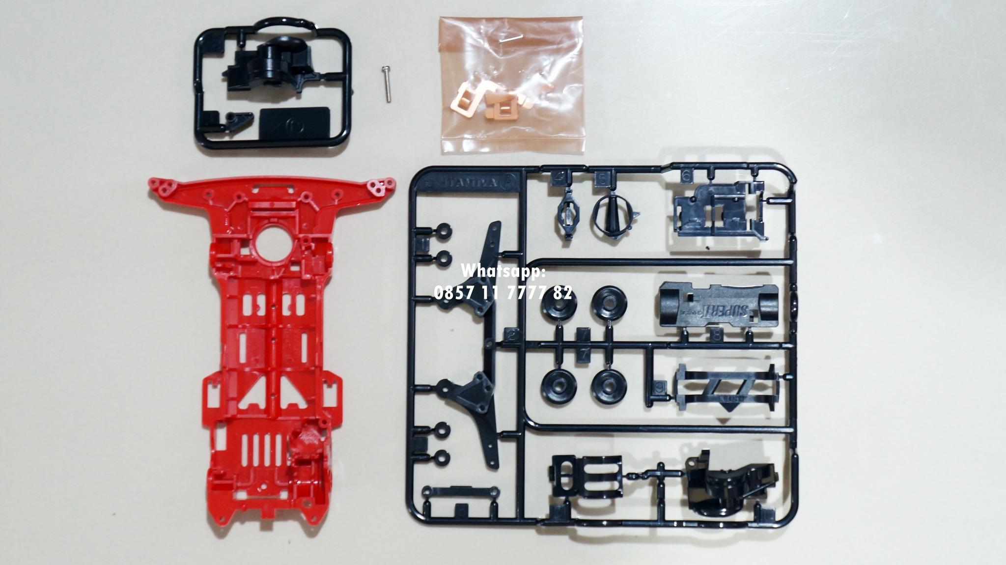 Jual Tamiya Loose Part Chassis Super Ii Red W Gearboxterminal Original Gearboxterminaleasy Lock Gudang Tv Tokopedia