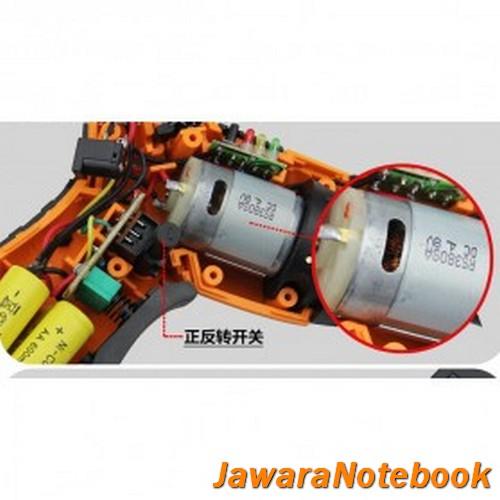 Cordless Screwdriver Drill 45 In 1 4.8V - S023-4.8V / Bor Listrik - Or