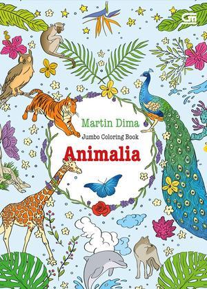 Jual ANTI STRESS ANIMALIA COLORING BOOK TOGAMAS