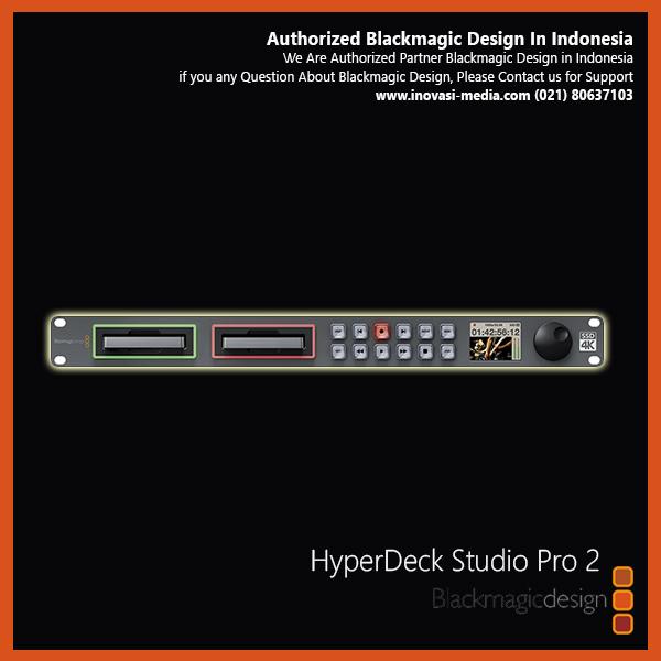 Blackmagic Design HyperDeck Studio Pro (HYPERD / ST / PRO2)