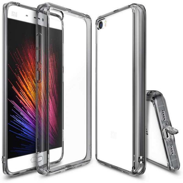 Ringke Fusion Case For Xiaomi Mi5 - Black Transparent