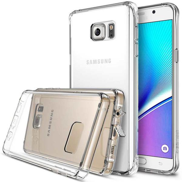 Ringke Samsung Galaxy Note 5 Fusion Soft Hard Case - Crystal View