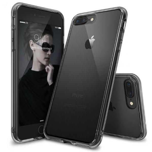 Ringke Fusion Case For Iphone 7 Plus - Black Transparent