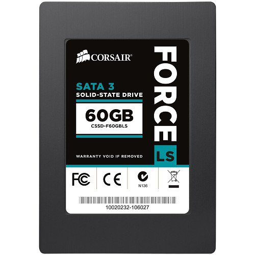 "SSD Corsair Force CSSD-F60GBLS 2.5"" 60GB"