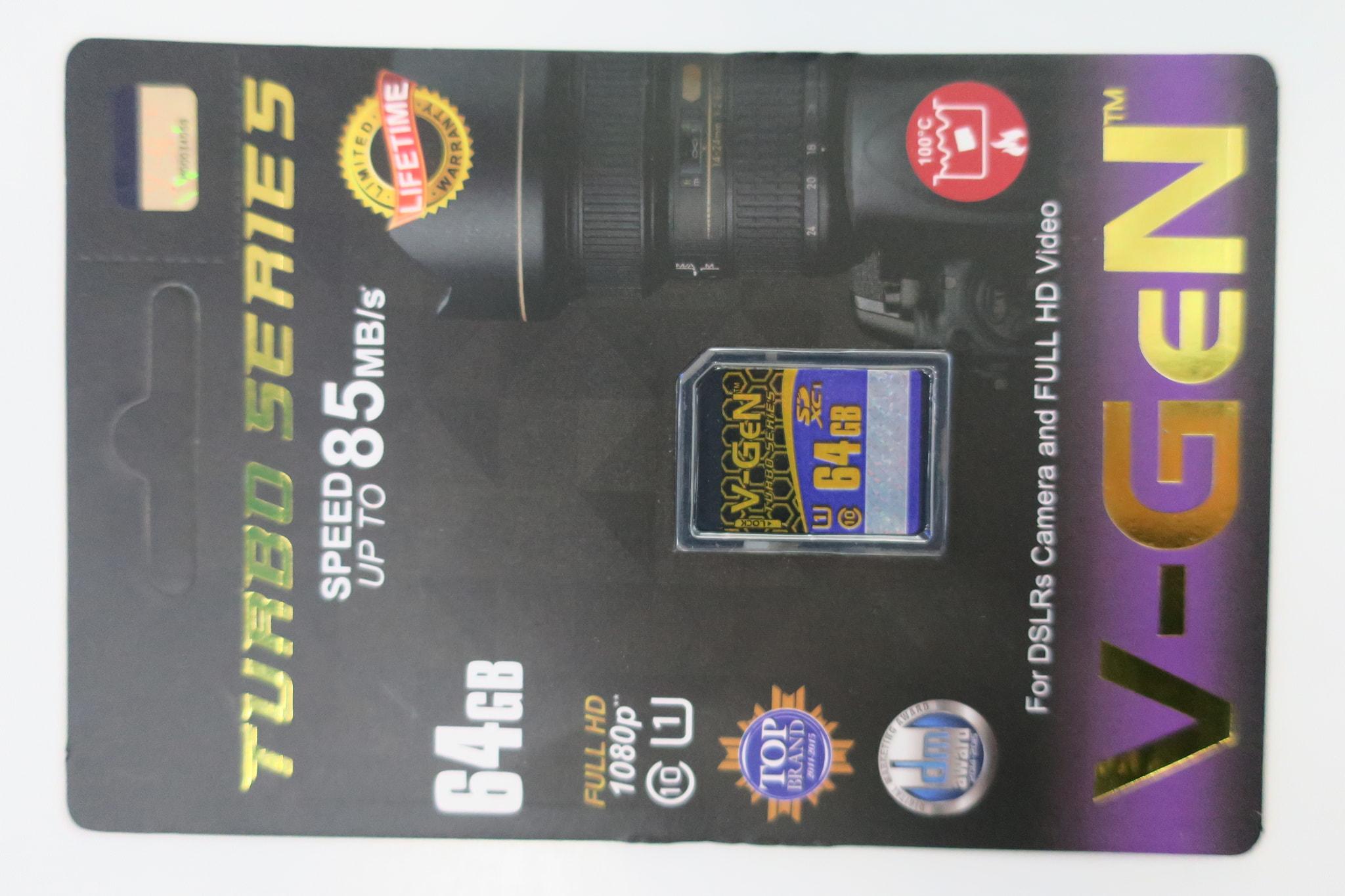 Memory V-GEN TURBO SERIES 64GB