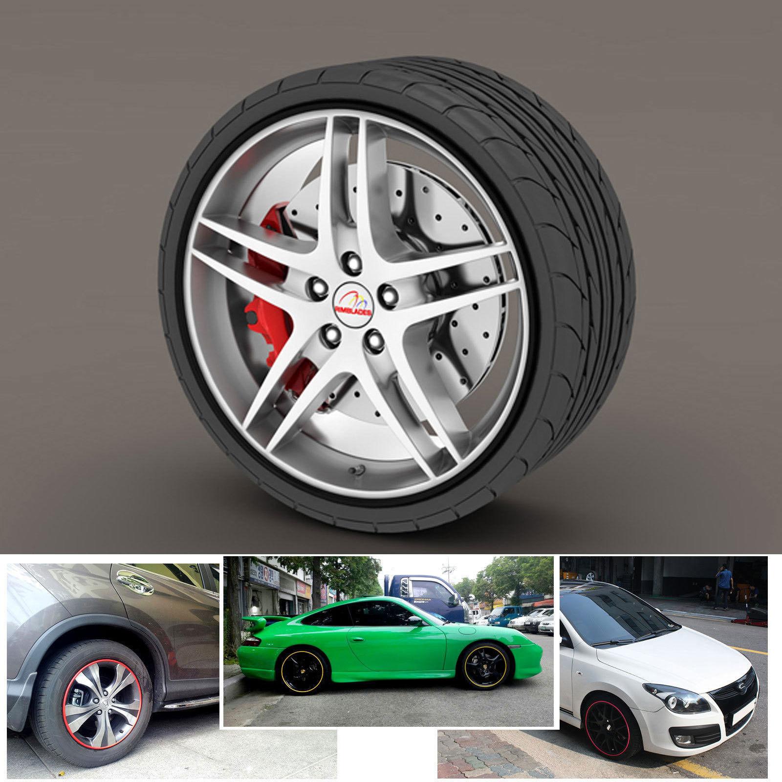 Jual Wheel Protector Pelindung Velg Warna Putih List Universal