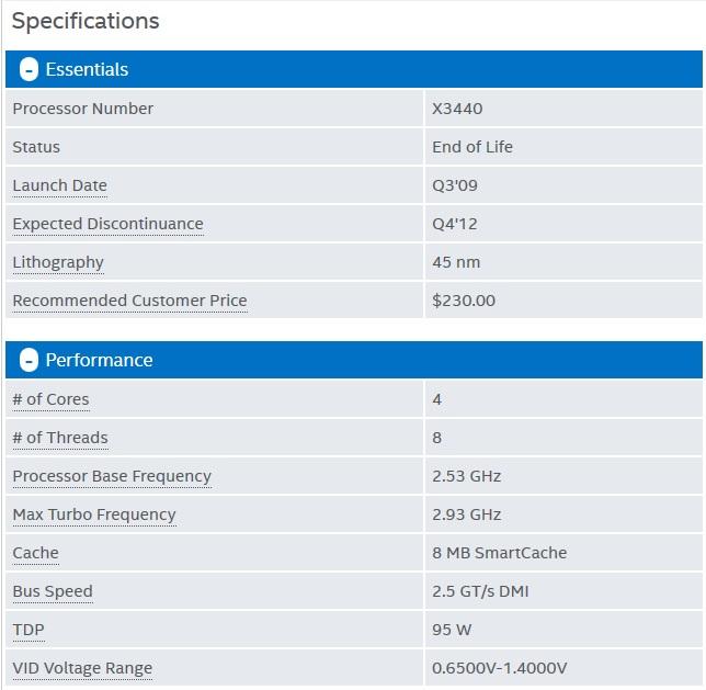 Jual Prosesor Intel Xeon X3440 Setara I5 750 Versi Murah