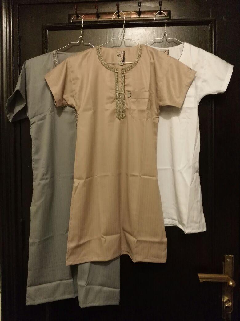 Baju Gamis Anak Pria Bayi Berompi Motif Flower Hello Kity 6 12 Bln Available 4 Color Jual Jubah Laki Ikaf Import Saudi Grosir Muslim