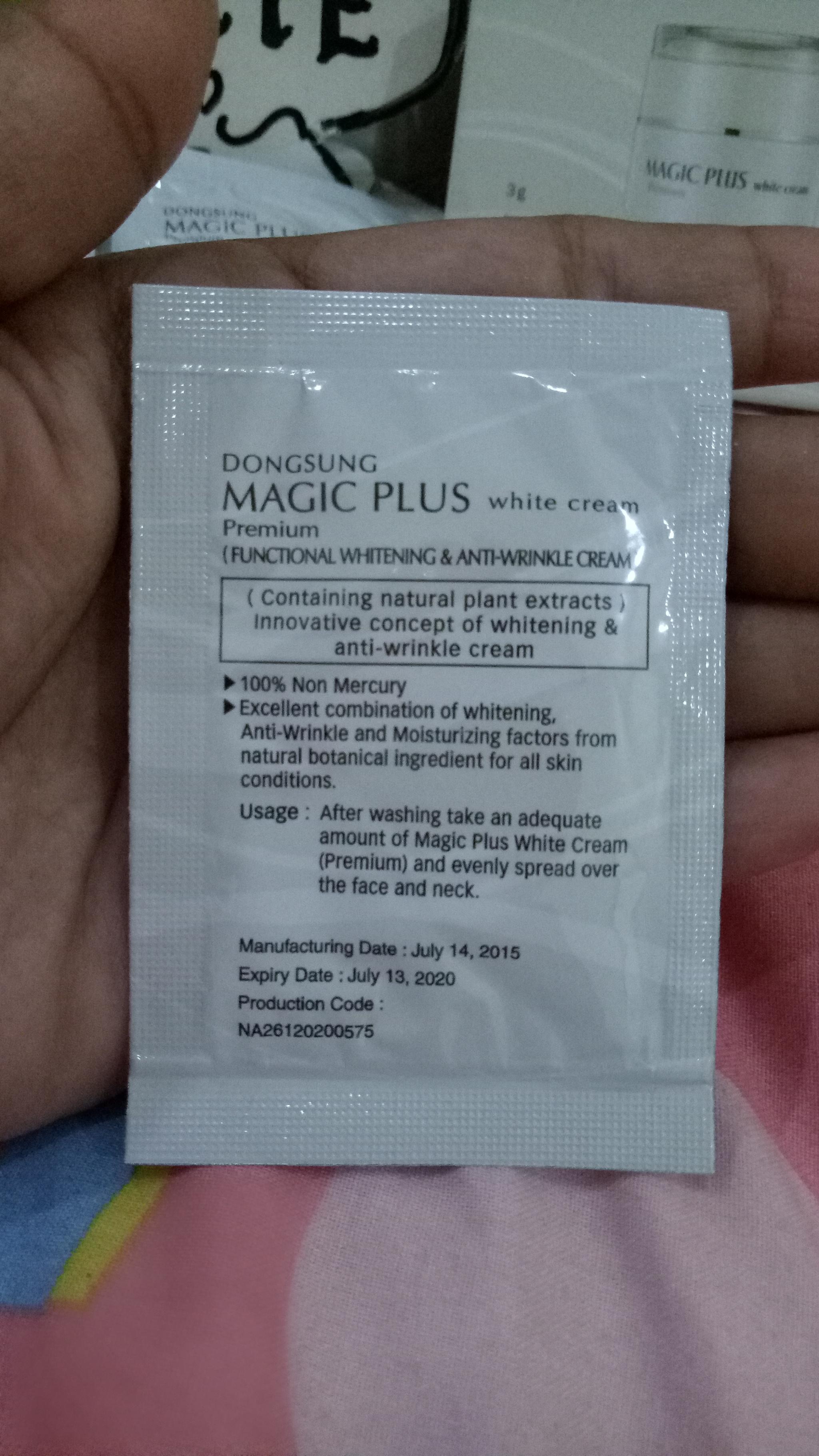 Magic Plus Premium White Cream 10 Sachet Page 5 Daftar Update 100 Original Lejel Home Shopping As Seen On Tv Dongsung Price List