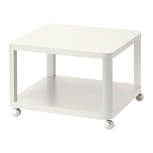 IKEA TINGBY Meja Beroda 64x64 Cm, Putih