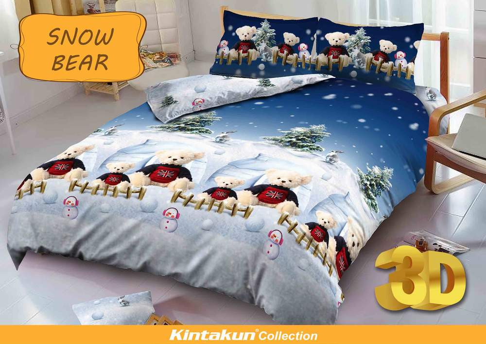 Jual Sprei Kintakun D'luxe Uk.180 X 200 Motif Snow Bear - J.A. Store 7788 | Tokopedia