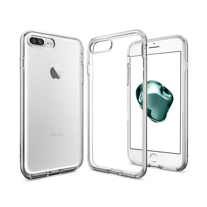 Spigen iPhone 7 Plus Case Neo Hybrid Crystal - Satin Silver