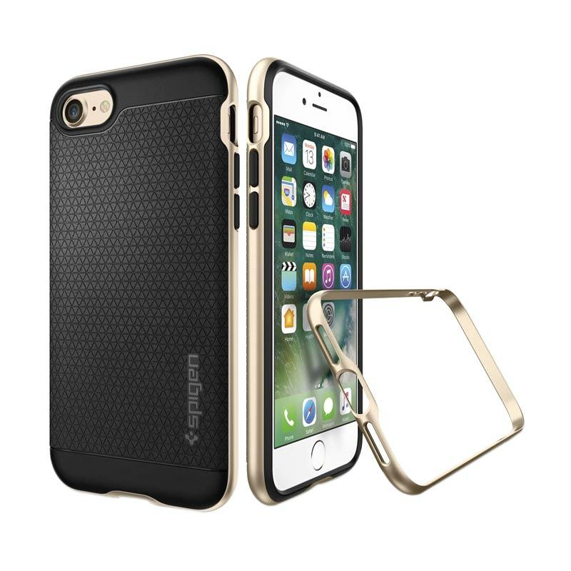 Spigen iPhone 7 Plus Case Neo Hybrid Casing Cover - Champagne Gold