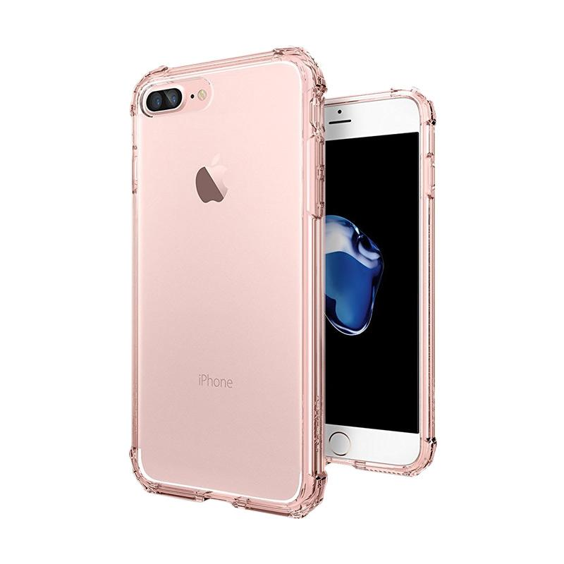 Spigen Crystal Shell Soft Casing Case iPhone 7 Plus - Rose Crystal