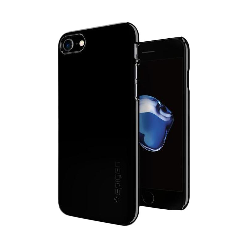 Spigen Thin Fit Casing for iPhone 7 Plus - Jet Black