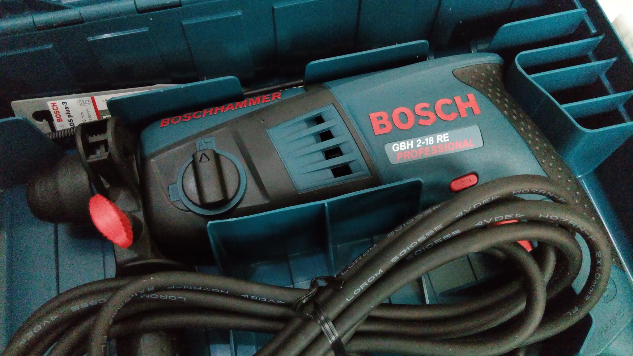 Mesin Bor Bosch GBH 2-18 RE