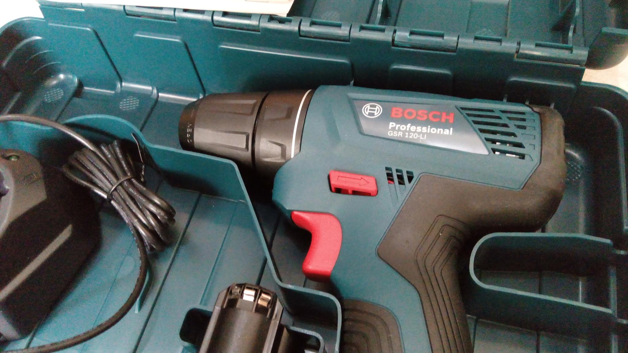 Mesin Bor Bosch GSR 120-LI