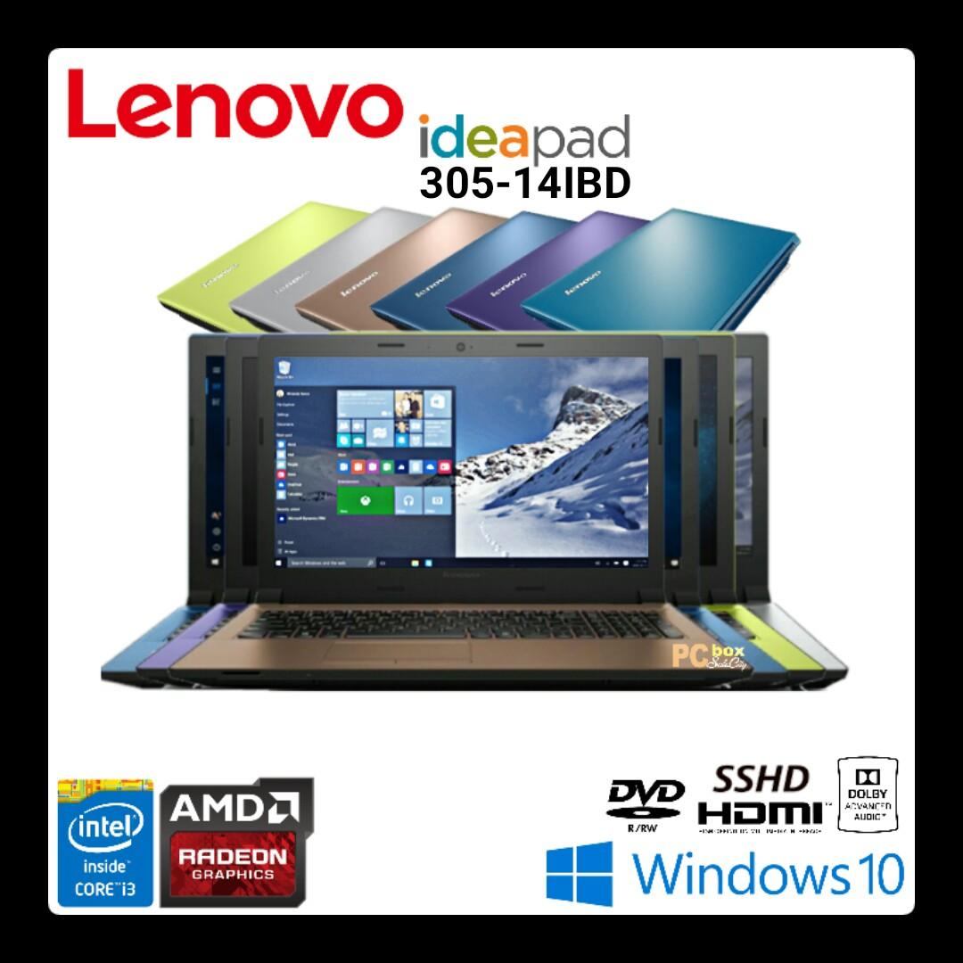 Jual Lenovo Ideapad 305 14ibd Core I3 5005u Radeon R5 M330 Windows Win10 5005 2gb 14 Silver 10
