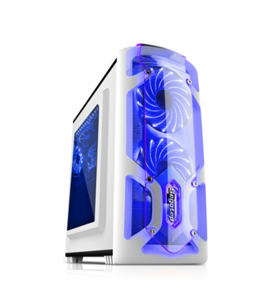 SEGOTEP GAMING CASE POLAR LIGHT WHITE