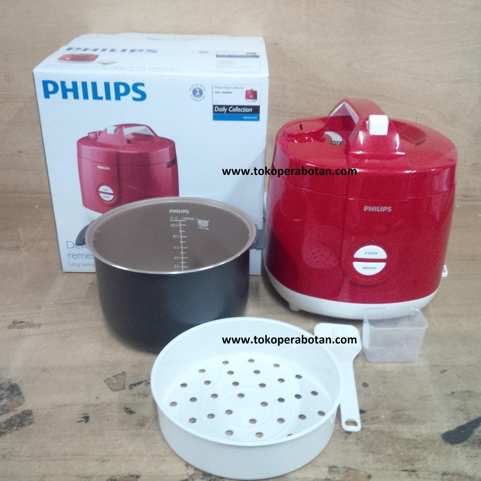 Magic Com / Rice Cooker Philips HD-3127 (merah)t2