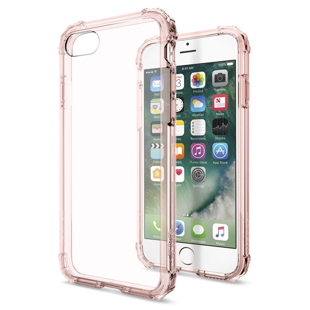 Spigen Iphone 7 Case Crystal Shell - Rose Crystal