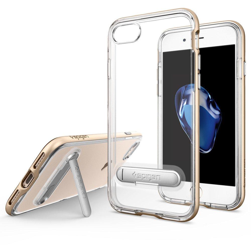 Spigen iPhone 7 Case Crystal Hybrid Casing Cover - Champagne Gold