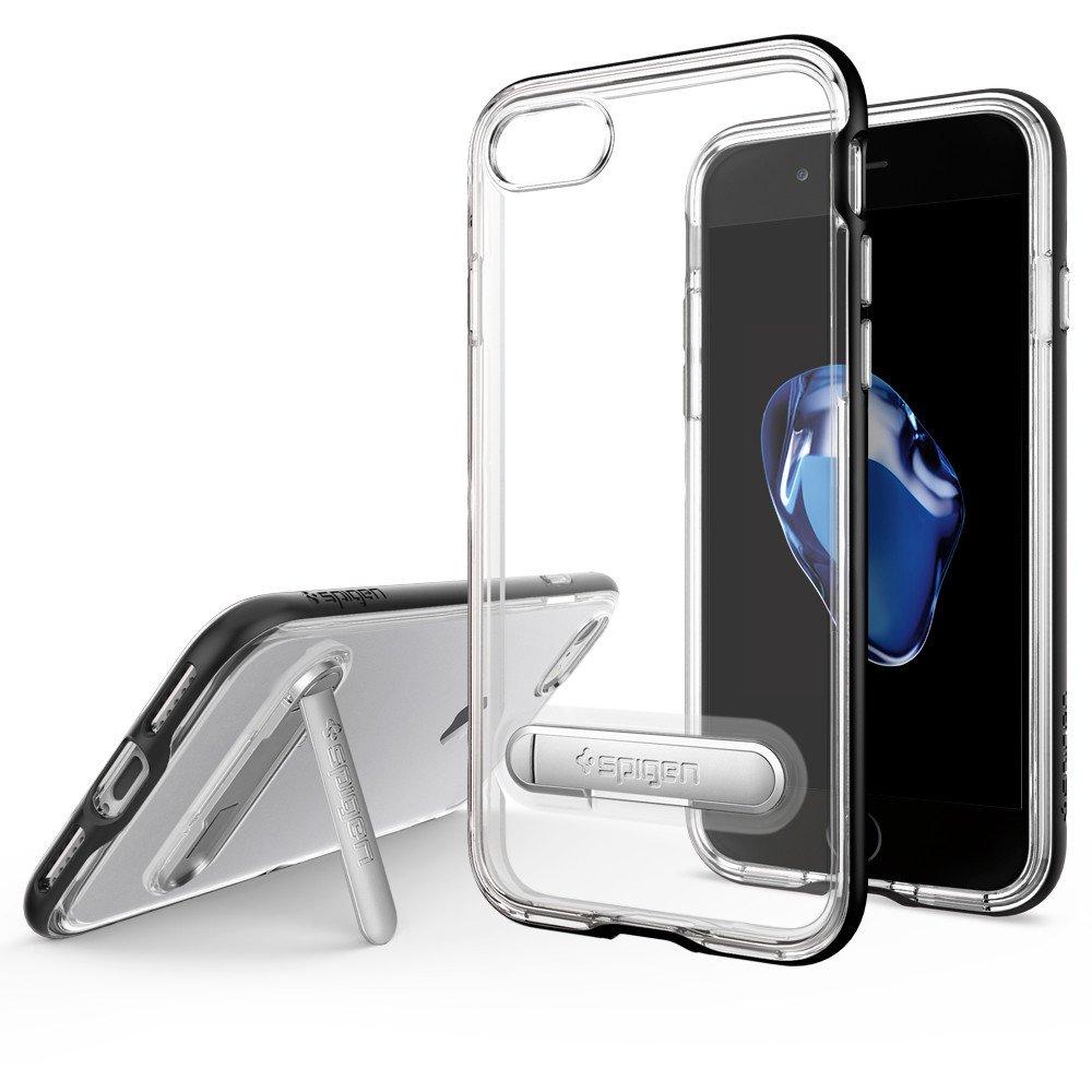 Spigen iPhone 7 Case Crystal Hybrid - Black