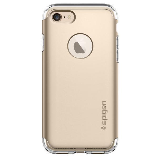 Spigen iPhone 7 Hybrid Armor Case Casing - Champagne Gold