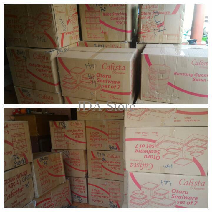 Calista Otaru Sealware Original Set 14 Pcs, Wadah Penyimpanan
