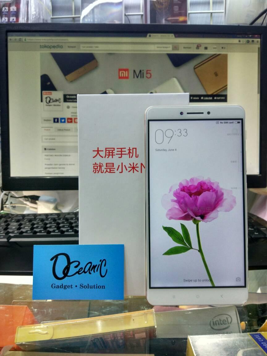 Jual New Xiaomi Mi Max Ram 3gb Internal 64gb Garansi Distributor 1 Redmi Note 4 64 Dist Thn Oceanic Tokopedia
