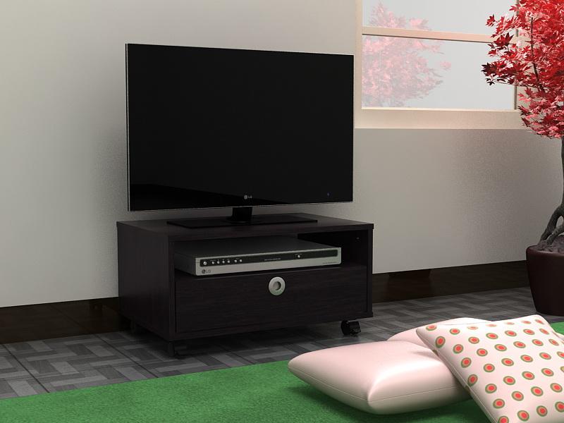 Meja TV Minimalis Coklat