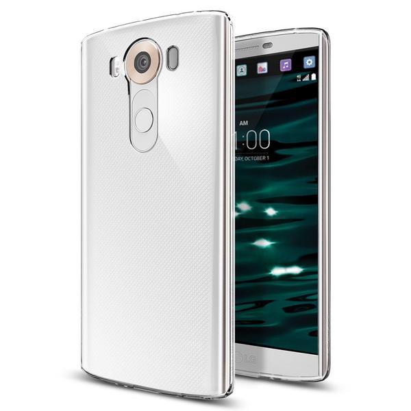 Spigen LG V10 Case Liquid Crystal Soft Casing Cover - Crystal View