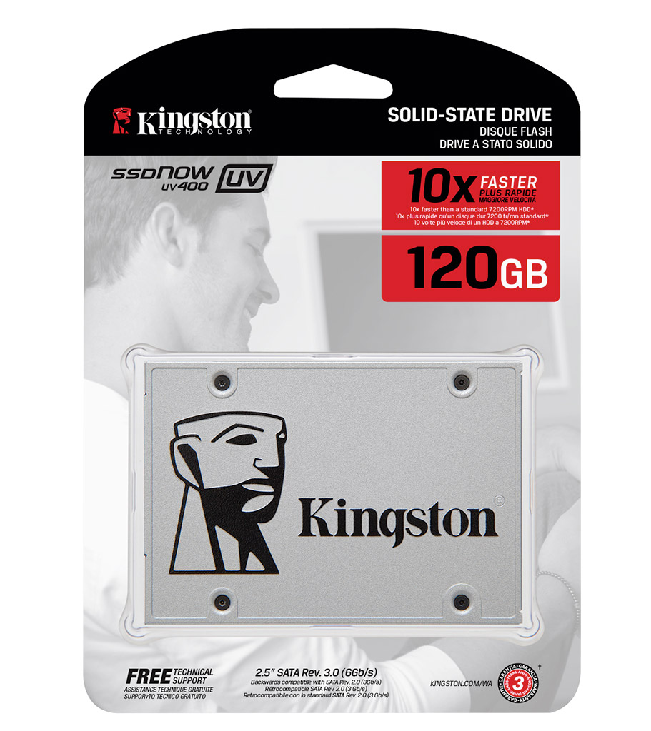 Kingston SSD SUV400 120GB. Garansi Resmi 3 Tahun
