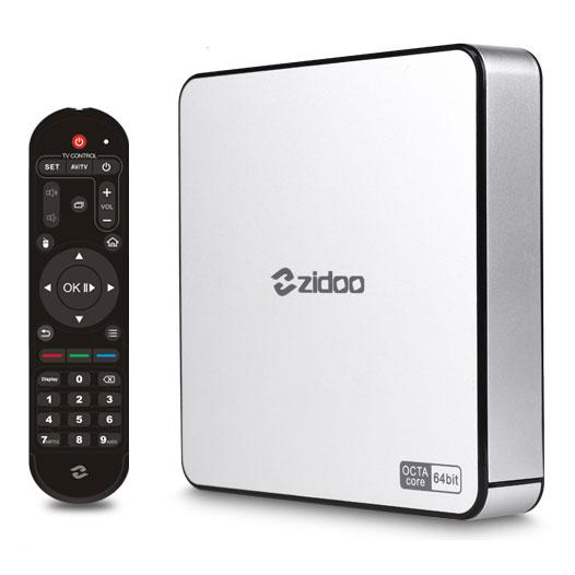 Zidoo Smart TV Box X6 Pro 4K Media Player