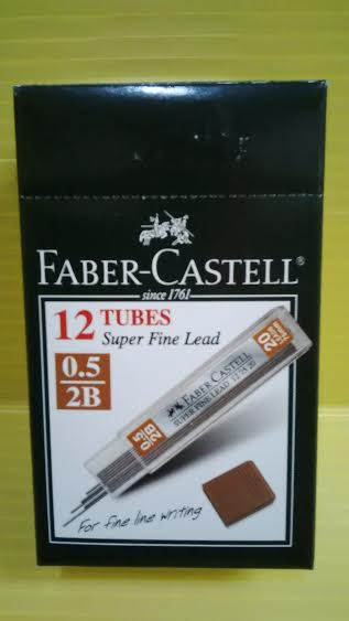 Isi Pensil Mekanik 2B 0,5 Faber Castell