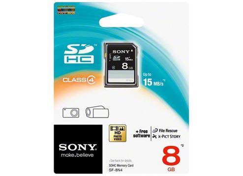 Kartu Memori Kamera Merek Sony SDHC 8 GB Clas 4