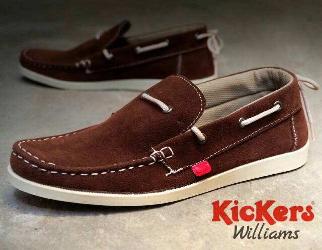 kickers william brown suede