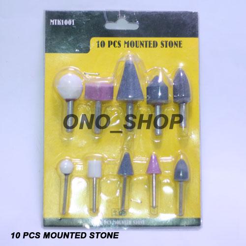 Mata Tuner Batu Set (10 Pcs Mounted Stone)