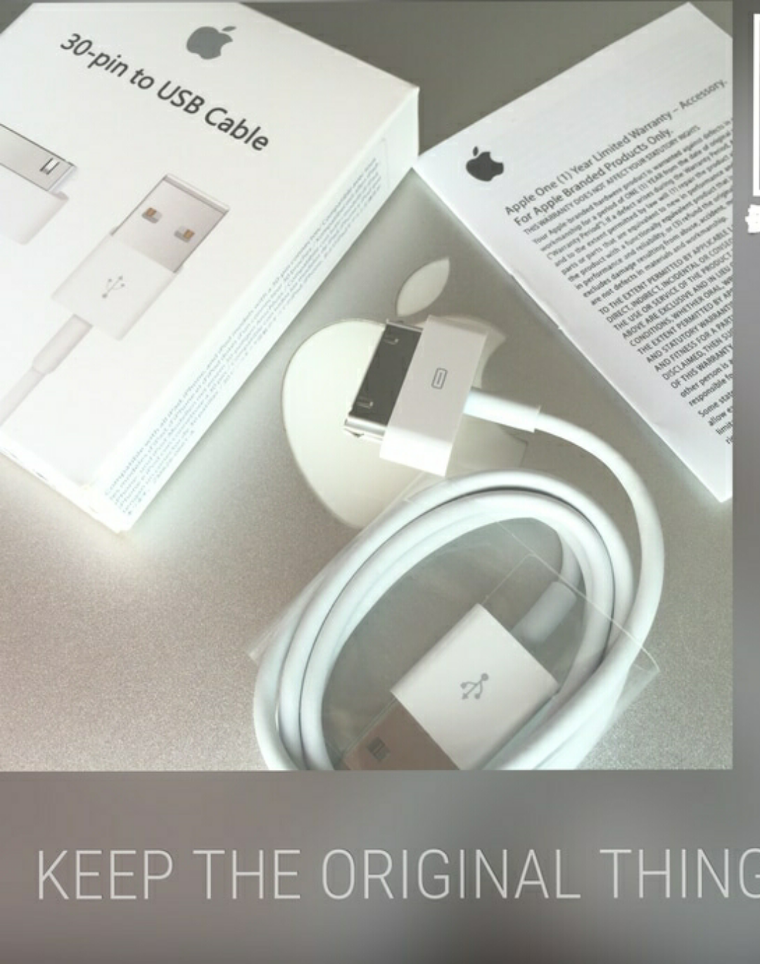 Jual Kabel Data Charger Iphone4 Ipad3 Ipad2 Original Apple Iphone 4 4g 4s Ipad Luxer Tokopedia