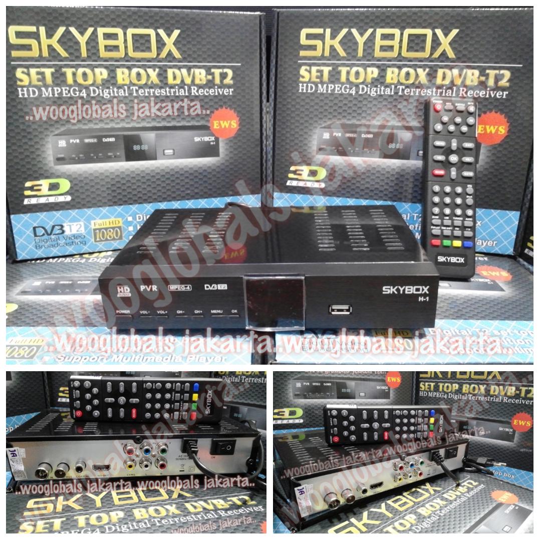 SKYBOX SET TOP BOX DVB SKYBOX HD MPEG4 DIGITAL TERRESTRIAL RECEIVER