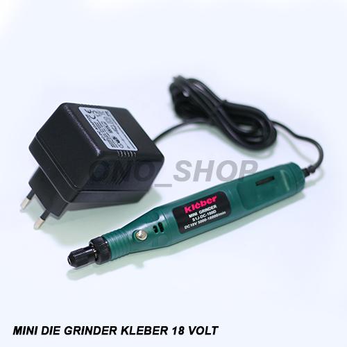 Mini Die Grinder Set Kleber 18 Volt Jaminan Mutu