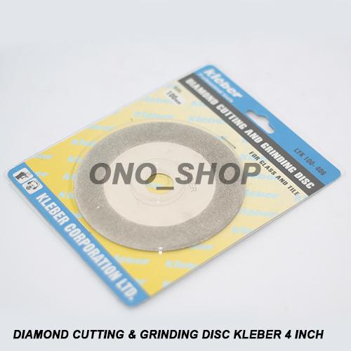 Diamond Cutting & Grinding Disc Kleber 4 Inch Jaminan Mutu