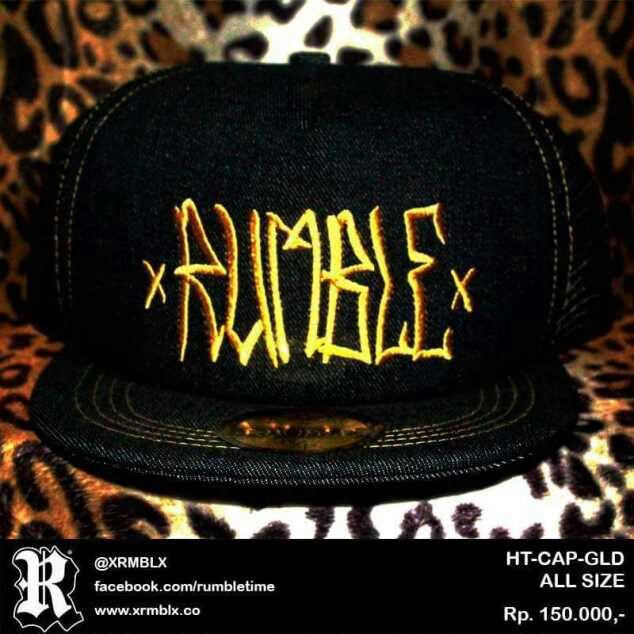 harga Original Hat Rumble bali - Ht Cap Gold, topi rumble bali Tokopedia.com