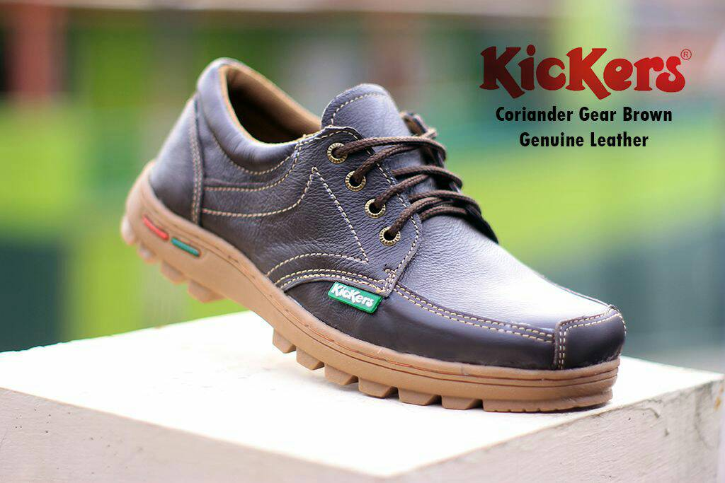 kickers coriander gear brown kulit